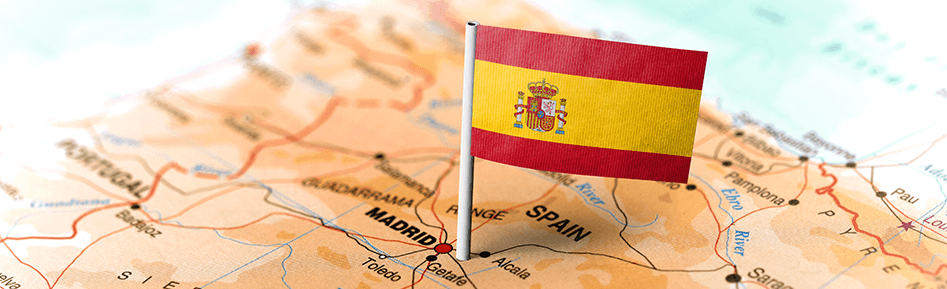 How much interest can I agree upon with my Spanish buyer for late payments?