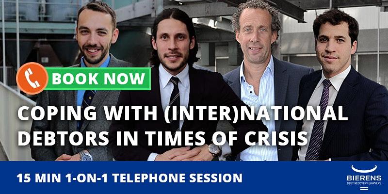 Telephone session Coronacrisis