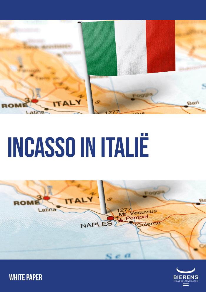 Gratis Whitepaper - Incasso in Italië